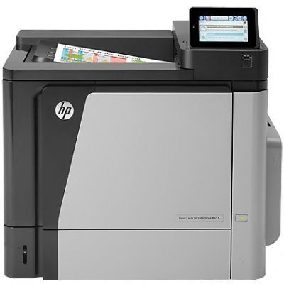 Цветной лазерный принтер HP Color LaserJet Enterprise M651n (CZ255A) (CZ255A)Цветные лазерные принтеры HP<br>A4, 1200dpi, 42(42)ppm, 512Mb, 2trays 100+500, USB/LAN/HIP,LCD4.3i,1y warr,repl.CC493A)<br>