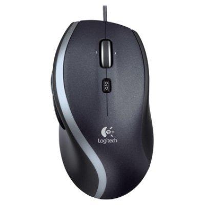 Мышь Logitech M500 (910-003725) (910-003725)Мыши Logitech<br>проводная мышь<br>для настольного компьютера<br>лазерная, 6 клавиш <br>разрешение сенсора мыши 1000 dpi<br>интерфейс USB<br>