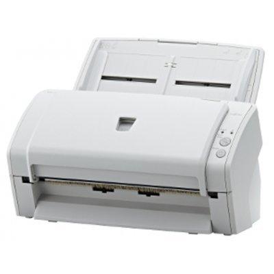 Сканер Fujitsu ScanPartner SP30 (PA03684-B301)Сканеры Fujitsu<br>Дуплексный протяжный документный сканер формата A4, скорость 30 стр./мин  или 60 изображений/мин, разрешение 600 dpi, автоподатчик на 50 листов, интерфейс USB 2.0/1.1, ПО PaperStream IP (TWAIN/ISIS), Presto! PageManager, ABBYY FineReader Sprint.<br>