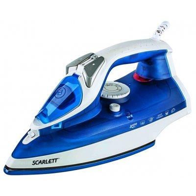 Утюг Scarlett SC-SI30E01 синий (SC-SI30E01 синий) масляный радиатор scarlett sc oh67b03 9 black