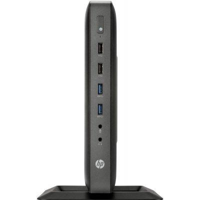 Тонкий клиент HP t620 (F5A56AA) (F5A56AA)Тонкие клиенты HP<br>DC GX-217GA (1.65)/4Gb/16Gb flash/SSD 16Gb/HD8280E/No OS/BT/клавиатура/мышьThinPro 32/HP Serial Port Adapter<br>