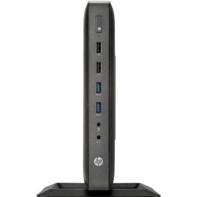 Тонкий клиент HP t620 (F5A51AA) (F5A51AA)Тонкие клиенты HP<br>DC GX-217GA (1.65)/4Gb/16Gb flash/SSD 16Gb/HD8280E/No OS/клавиатура/мышьThinPro 32/HP VGA Adapter<br>