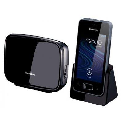 Радиотелефон Panasonic KX-PRX150 (KX-PRX150RUB)Радиотелефоны Panasonic<br>Беспроводной телефон DECT Panasonic/ Дисплей - цветной, подключение к смартфону, АОН, конференц-связь, радионяня, цвет - белый-черный<br>