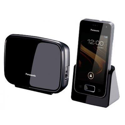 Радиотелефон Panasonic KX-PRX120 (KX-PRX120RUW) радиотелефон dect panasonic kx tg8551rub черный аон