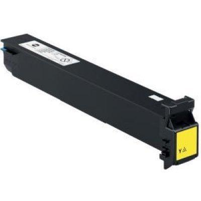 Тонер-картридж для лазерных аппаратов Konica Minolta TN-512Y желтый (A33K252) (A33K252)Тонер-картриджи для лазерных аппаратов Konica Minolta<br>Konica Minolta bizhub C454/C554 TN512Y, yellow (26K)<br>