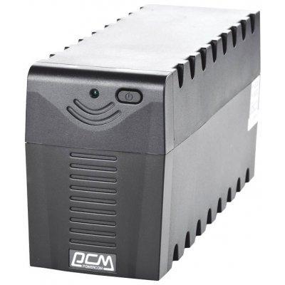 Источник бесперебойного питания Powercom RAPTOR RPT-600AP (792803)Источники бесперебойного питания Powercom<br>Raptor 600VA/360W AVR,USB (3 IEC)<br>