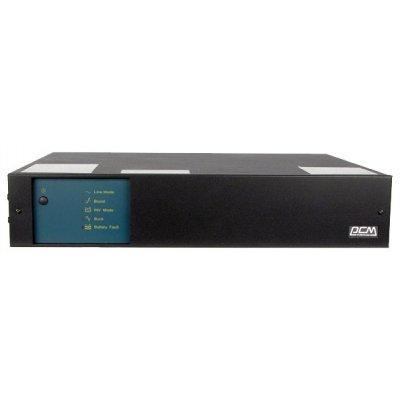 Источник бесперебойного питания Powercom King Pro KIN-1500AP-RM (556987)Источники бесперебойного питания Powercom<br>1500VA/900W 2U,USB,RS-232 (4+2 IEC)<br>