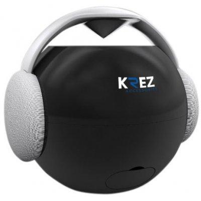 Аудио минисистема KREZ AB-111 черный (AB-111MB)Портативная акустика KREZ<br>Выходная мощность - 3Вт, Bluetooth, функция Handsfree, сенсорное управление, моно, водонепроницаемость, 600mAh емкость аккумулятора, 84.0мм * 97.0мм * 88.7мм, 210г., черные<br>