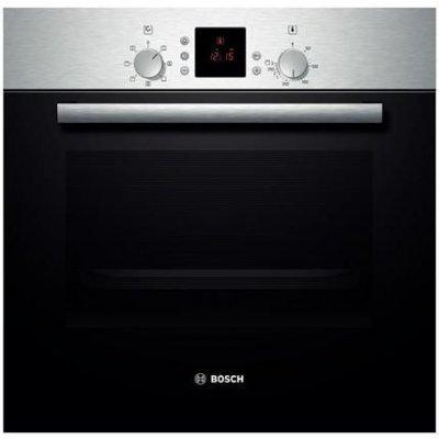 Электрический духовой шкаф Bosch HBN431E3 (HBN431E3)Электрические духовые шкафы Bosch<br>электрическая; объем: 67л; гриль; конвекция; защита отдетей; цвет: серебристый<br>