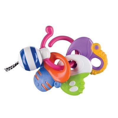 Прорезыватель Happy Baby Keys of Fun (Happy Baby Keys of Fun)Прорезыватели Happy Baby<br>Погремушка<br>
