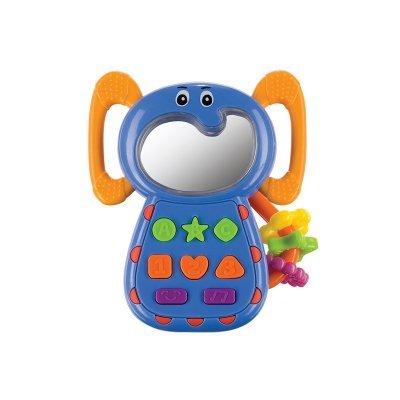 Прорезыватель Happy Baby Ele-Phone (Happy Baby ELE-PHONE)Прорезыватели Happy Baby<br>с музыкальными кнопками и световым зеркальцем<br>