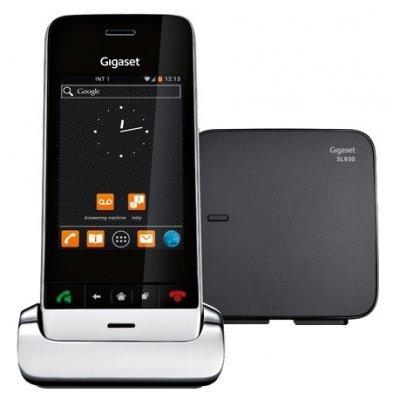 все цены на Радиотелефон Gigaset SL930A серебристый (SL930 серебристый) онлайн