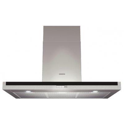 Вытяжка Siemens LC97BE532 (LC97BE532)Вытяжки Siemens<br>Ширина 90см, 3 ступени + интенсивный режим, максим.производительность 730 м3/ч, режим отвода/циркуляции, дополнительная шумоизоляция, LED освещение 3 x 3W, кнопки с подсветкой, система Easy Mounting<br>