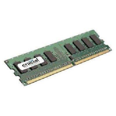 Модуль оперативной памяти ПК Crucial CT12864AA667 (CT12864AA667)Модули оперативной памяти ПК Crucial<br>Память DDR2 1Gb 667MHz Crucial (CT12864AA667) RTL (PC2-5300) CL5 Unbuffered UDIMM 240pin<br>