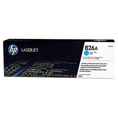 Картридж HP (CF311A) для CLJ Enterprise M855 826A, голубой (CF311A)Тонер-картриджи для лазерных аппаратов HP<br>для CLJ Enterprise M855 826A, желтый Ресурс картриджа (страниц)31500<br>