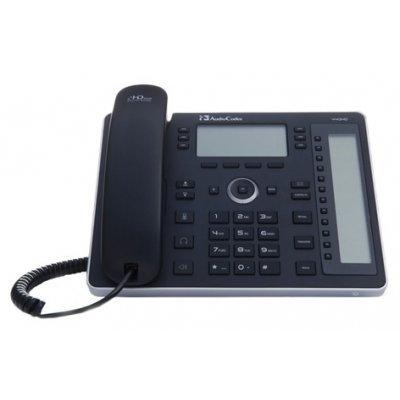 VoIP-телефон AudioCodes 440HDEPSG (IP440HDEPSG)VoIP-телефоны AudioCodes<br>VoIP-телефон<br>протоколы связи: SIP<br>поддержка стандарта связи GSM<br>громкая связь (Hands Free)<br>разъем для подключения гарнитуры<br>встроенный черно-белый LCD-дисплей<br>порты подключения: USB, WAN, LAN<br>