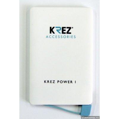 Внешний аккумулятор KREZ Power LP2501W, белый (LP250111AW), арт: 182287 -  Внешние аккумуляторы для портативных устройств KREZ