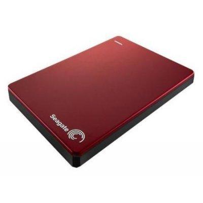 Внешний жесткий диск Seagate Backup Plus Portable красный (STDR2000203) (STDR2000203) 3 5 8000gb seagate stel8000200 usb3 0 backup plus hub черный