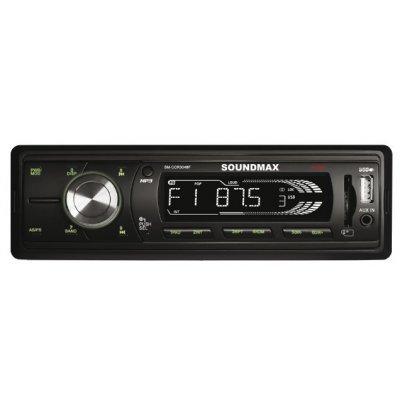 Автомагнитола Soundmax SM-CCR3048F (SM-CCR3048F)Автомагнитолы Soundmax<br>автомагнитола 1 DIN<br>макс. мощность 4 x 45 Вт<br>воспроизведение с USB-накопителя<br>аудиовход на передней панели<br>радиоприемник <br>поддержка карт памяти SD<br>