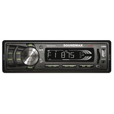 Автомагнитола Soundmax SM-CCR3049F (SM-CCR3049F)Автомагнитолы Soundmax<br>автомагнитола 1 DIN<br>макс. мощность 4 x 45 Вт<br>воспроизведение с USB-накопителя<br>аудиовход на передней панели<br>радиоприемник <br>поддержка карт памяти SD<br>