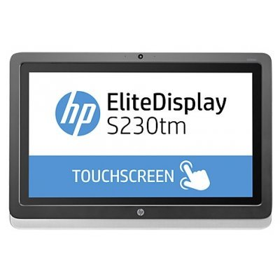 Монитор HP EliteDisplay 23 S230tm (E4S03AA) (E4S03AA)Мониторы HP<br>23-In Touch Mon 23 IPS  1920x1080 1000:1 220 cd/m2 178/178 7ms DP DVI-D USB cam 720p speakers 3-3-0<br>
