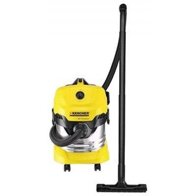 Пылесос Karcher MV 4 Premium желтый (1.348-150.0) редуктор давления с фильтром karcher 2 645 226 0