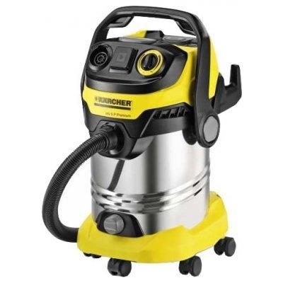 Пылесос Karcher MV 6 P Premium желтый (1.348-270.0)Пылесосы Karcher<br>сухая уборка<br>с мешком для сбора пыли<br>с циклонным фильтром<br>работа от сети<br>потребляемая мощность 1300 Вт<br>вес 9.4 кг<br>