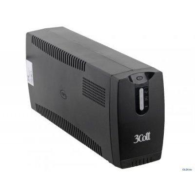Источник бесперебойного питания 3Cott Micropower 1000VA /580W AVR RJ-11 3*Shuko линейно-интерактивный (3Cott 1000VA-3SE)Источники бесперебойного питания 3Cott<br>Фирма 3Cott представляет бюджетные компьютерные корпуса и блоки питания. Высокое качество и современный стиль. Источники бесперебойного питания (ИБП, UPS) позволяют предохранить ПК от аварийного выключения.  600W AVR 3*Shuko<br>