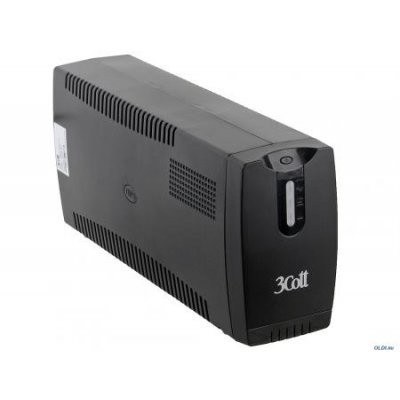 Источник бесперебойного питания 3Cott Micropower 1200VA /700W AVR RJ-11 3*Shuko линейно-интерактивный (3Cott 1200VA-3SE)Источники бесперебойного питания 3Cott<br>Фирма 3Cott представляет бюджетные компьютерные корпуса и блоки питания. Высокое качество и современный стиль. Источники бесперебойного питания (ИБП, UPS) позволяют предохранить ПК от аварийного выключения. 720W AVR 3*Shuko<br>