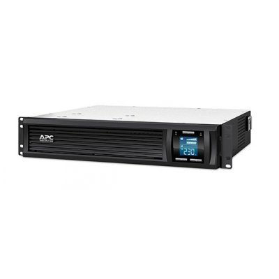 Источник бесперебойного питания APC Smart-UPS C 1500VA 2U LCD 230V (SMC1500I-2U)