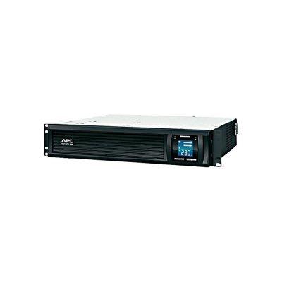 Источник бесперебойного питания APC Smart-UPS C 1000VA 2U Rack mountable LCD 230V (SMC1000I-2U) ибп apc smc1000i 2u smart ups 1000va 600w