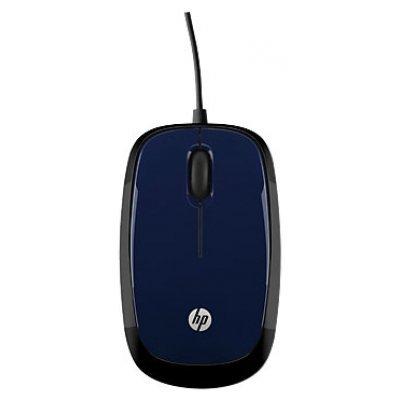 цена на Мышь HP X1200 Revolutionary H6F00AA Wired Mouse Blue USB (H6F00AA)