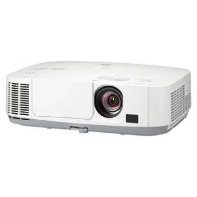Проектор NEC P401W (P401W)Проекторы NEC<br>LCD 1280 x 800, RJ45, 4000lm, 4000:1, 4.1kg, 2xHDMI, WXGA, 1,7x zoom lens, Lens shift, H/V keystone, Lamp:6000hrs<br>