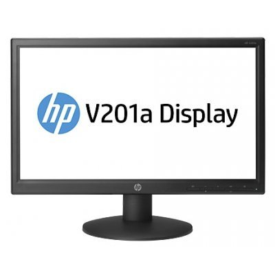 Монитор HP TFT V201a (F8C55AA) (F8C55AA)Мониторы HP<br>19,45 LED Monitor wide(200 cd/m2,600:1,5 ms,90°/50°,VGA,1600x900,Energy Star)<br>