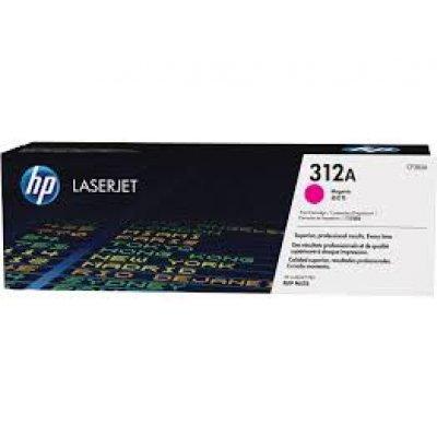 Тонер-картридж для лазерных аппаратов HP 312A для LaserJet Pro MFP M476nw пурпурный (CF383A) (CF383A)