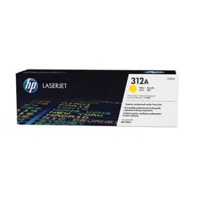Тонер-картридж для лазерных аппаратов HP 312A для LaserJet Pro MFP M476nw  желтый (CF382A) (CF382A)Тонер-картриджи для лазерных аппаратов HP<br>HP CF382A - необходимый расходный материал для вашей оргтехники. Он восстановит высокое качество печати и прослужит вам максимально долго. Советуем приобрести сразу несколько экземпляров, чтобы не тратить время в будущем на повторный заказ и ожидание товара, когда ресурс предыдущей покупки подойдет  ...<br>