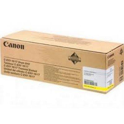Фотобарабан Canon C-EXV 16/17Y  желтый (0255B002AA) canon canon matt coated 1933b005 17