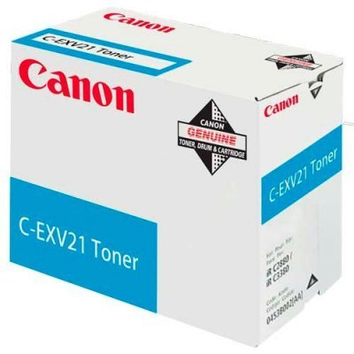 Фотобарабан Canon C-EXV21C голубой (0457B002BA)