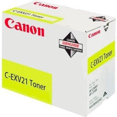 Фотобарабан Canon C-EXV21Y желтый (0459B002BA)