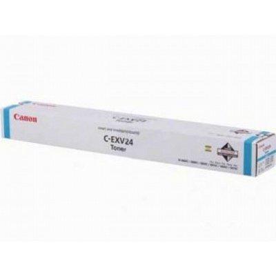 где купить Тонер-картридж Canon C-EXV24C голубой (2448B002) (2448B002) дешево
