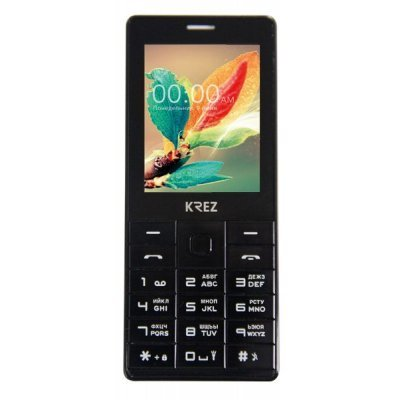Мобильный телефон KREZ PL202B DUO (PL202B DUO)Мобильные телефоны KREZ<br>2.4 LCD, Dual SIM card, Dual standby, GSM 900/1800 MHz, 0.08 MP Camera, BT, GPRS, Вибро вызов, FM радио, Фонарик, SMS, English/Russia, 1200mAh battery<br>