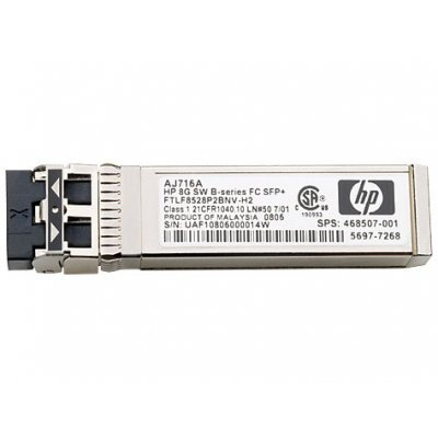 Трансивер HP 1Gb SW iSCSI SFP 4 Pk for MSA2040 only (C8R14A, C8R15A, C8R09A) / C8S75A (C8S75A)
