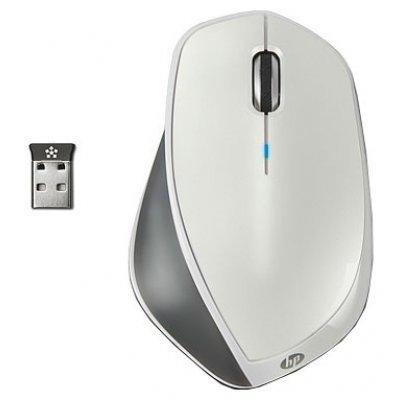 Мышь HP x4500 Wireless Mouse (White) беспроводная (H2W27AA) (H2W27AA)Мыши HP<br>беспроводная мышь<br>интерфейс USB<br>для настольного компьютера<br>лазерная, 3 клавиши <br>разрешение сенсора мыши 1600 dpi<br>