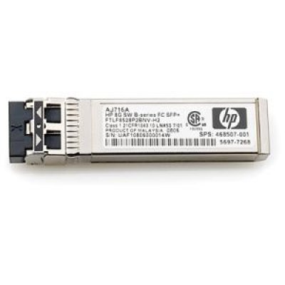 Трансивер HP 10Gb SW iSCSI SFP 4 Pk (C8R25A) (C8R25A)