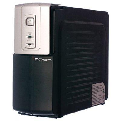 Источник бесперебойного питания Ippon Back Office 600 600VA/300W (4 x IEC) (Back Office 600) источник бесперебойного питания irbis personal 600va isb600e isb600e