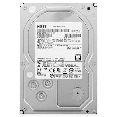 Жесткий диск Western Digital 4TB (0S03665) (0S03665)Жесткие  диски ПК Hitachi<br>HGST NAS HDD 3.5 SATA-III 4000Gb, 7200rpm, 64MB buffer (H3IKNAS40003272SE Hitachi Deskstar NAS Edition)<br>