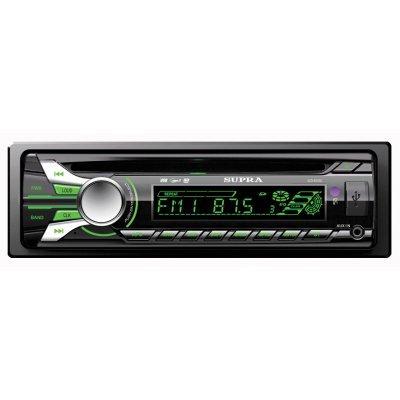 Автомагнитола Supra SCD-45USC (SCD-45USC)Автомагнитолы Supra<br>Автомобильная магнитола SUPRA SCD-45USC отлично впишется в интерьер любой машины. С ней ваша акустическая система превратится в настоящий музыкальный центр. Стильное исполнение и отличная функциональность в сочетании с привлекательной ценой являются неоспоримыми достоинствами данной модели.<br>