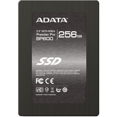 Накопитель SSD A-Data Premier Pro SP600 256GB (ASP600S3-256GM-C)Накопители SSD A-Data<br>ADATA 256GB SSD SP600 2.5 SATAIII w/brackets<br>