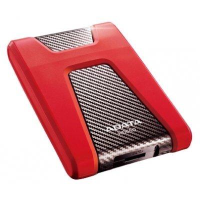 Внешний жесткий диск A-Data DashDrive Durable HD650 1TB красный (AHD650-1TU3-CRD)Внешние жесткие диски A-Data<br>Жесткий диск A-Data DashDrive Durable HD650 1TB обеспечивает большую производительность, повышенную емкость и оптимизацию потребления энергии, необходимые для того, чтобы соответствовать высокому уровню хранения данных. Поддерживает операционные системы Windows Vista/XP/2000 Pro, Me, Mac OS X 10.1 <br> ...<br>