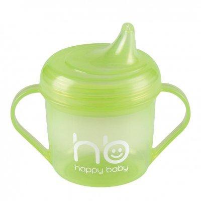Поильник детский Happy Baby Drink UP с ручкой зеленый (Drink UP с ручкой 170мл 14001new green)
